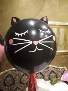 "Олимпийский шар ""Котенок"" с кисточкой."