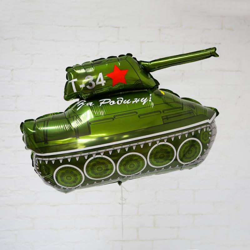 Шар фольгированный Танк Т-34