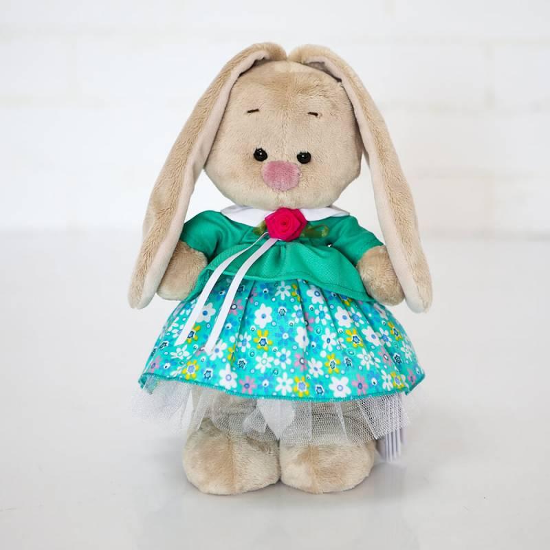 Мягкая игрушка Зайка Ми в бирюзовой курточке (малый) 25см