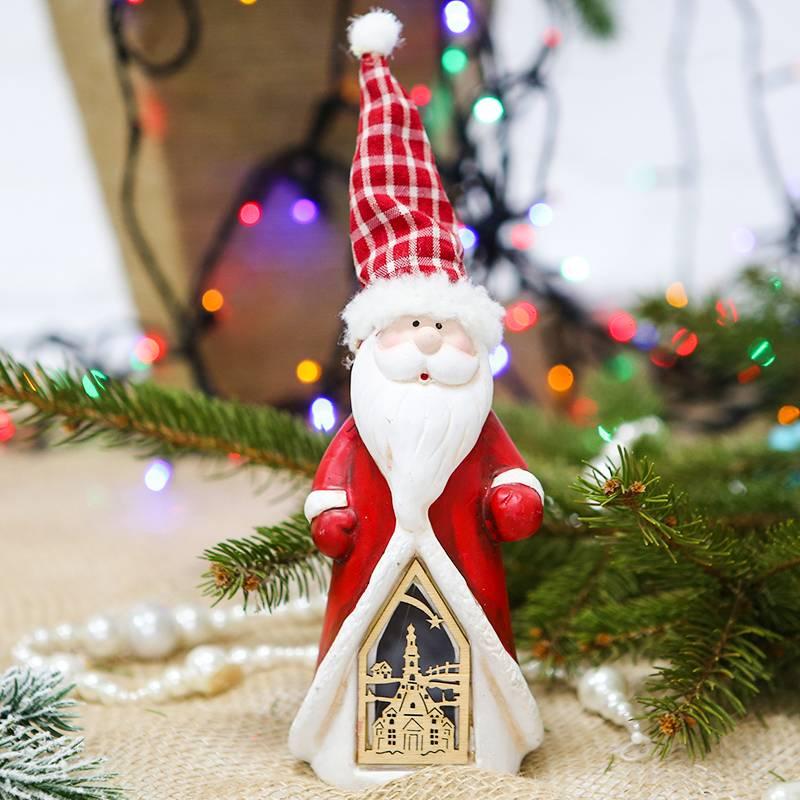 """Новогодний сувенир """"Дед мороз"""" светящийся"""