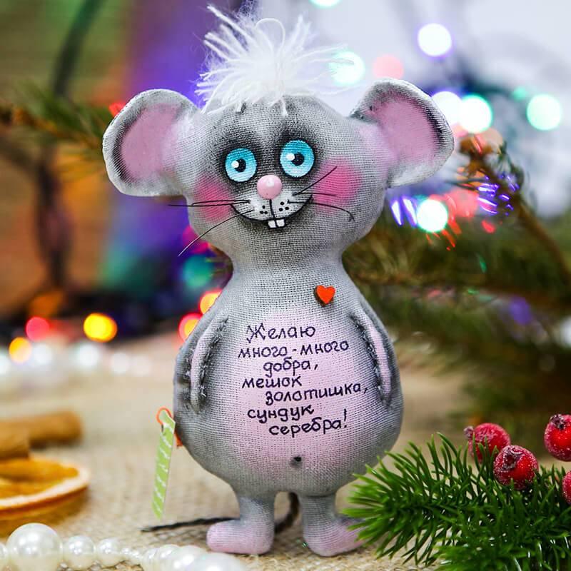 Аромо-игрушка ручной работы мышка