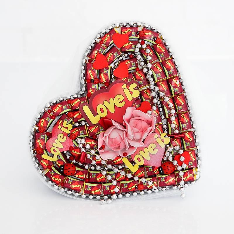 "Букет из жевательных резинок "" Love is..."""