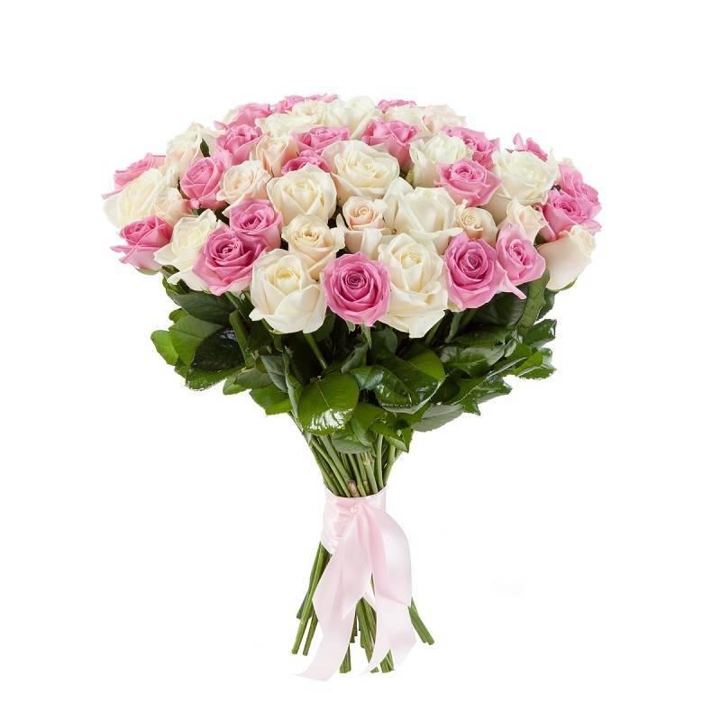 """Букет из роз """"Розовые сны"""""""