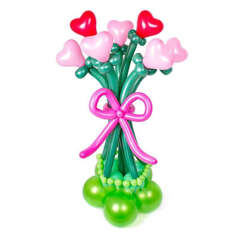 """Букет из шаров """"Это любовь..."""""""