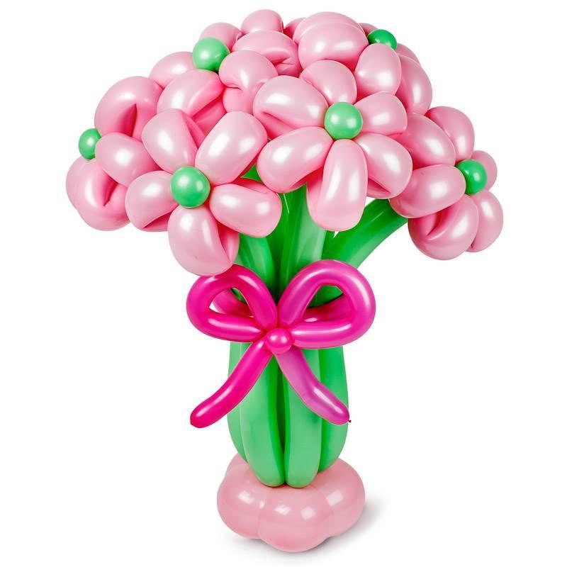 """Букет из шаров """"Розовые облака"""""""
