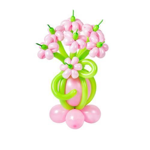 """Букет из шаров """"Цветочная полянка"""""""