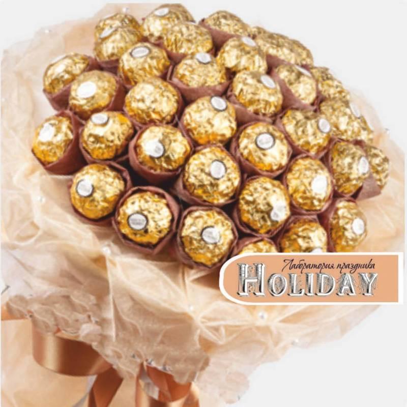 """Букет из конфет Ferrero Rocher  """"Минималист"""""""