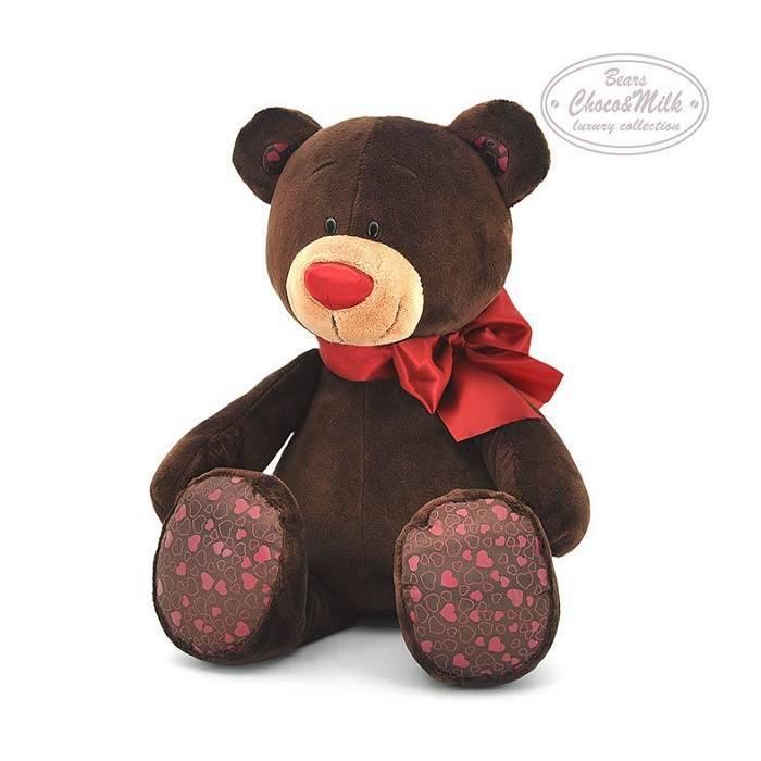 """Мягкая игрушка Медведь """"Choco"""""""