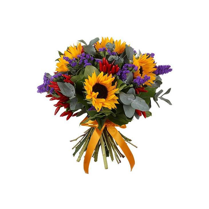 Мужская композиция из цветов