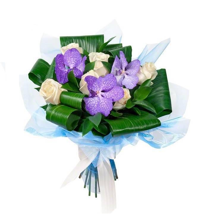 """Букет с орхидеями """"Для тебя, любимая!"""""""