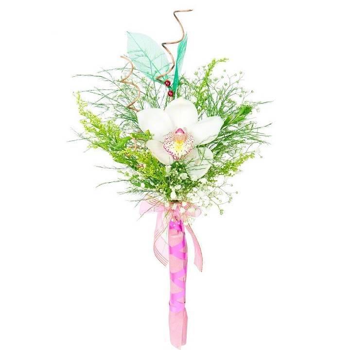 Букет из орхидей