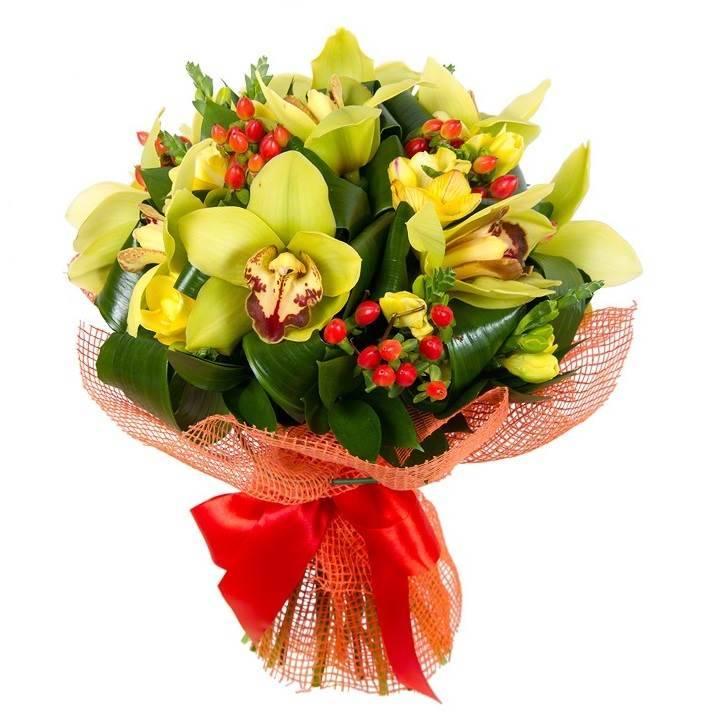 """Букет с орхидеями """"Любовный гипноз"""""""