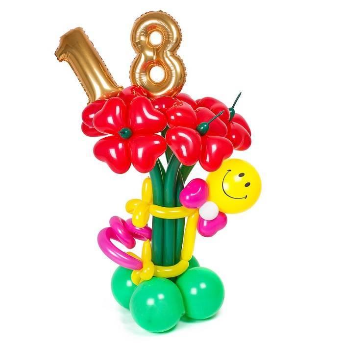 """Композиция из шаров """"18"""""""