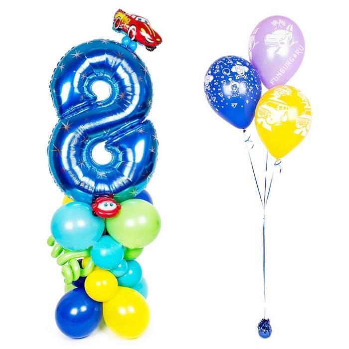 Комплект шаров на День Рождения (для мальчика)