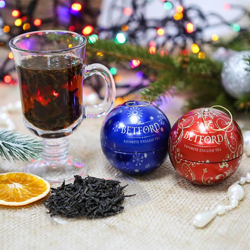 """Чай в подарочной упаковке """"Новогодняя игрушка"""""""