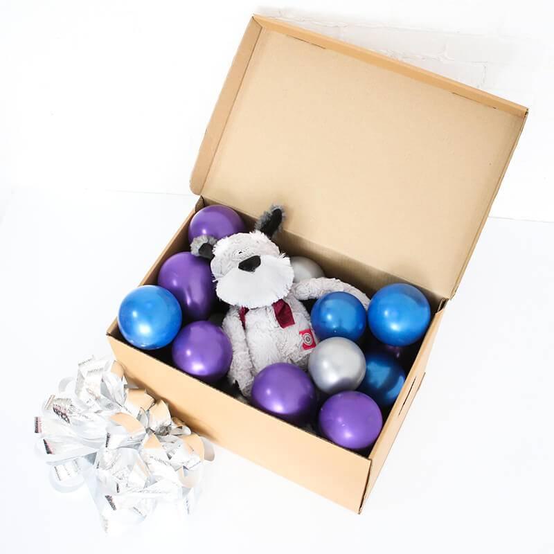 """Коробка сюрприз """"с плюшевой игрушкой"""""""