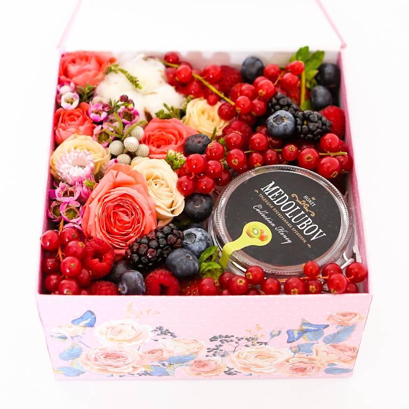 """Коробочка с ягодами """"Ягодный бум"""""""