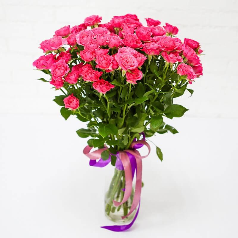 """Кустовая роза """"Лавли Лидия"""""""