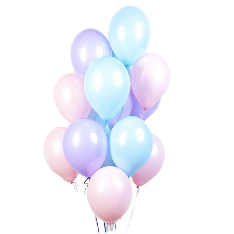 Латексные шары без рисунка «Нежность»