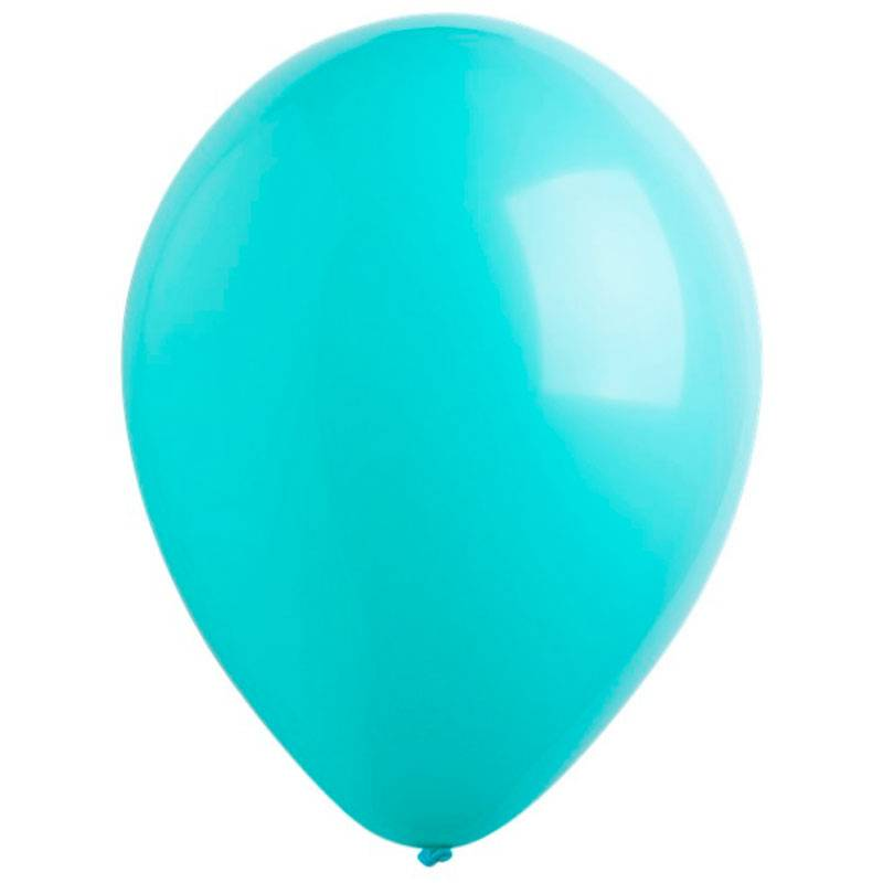 """Латексный шар с гелием. """"Tiffany Blue"""""""