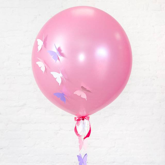 "Метровый шар ""Бабочки"""