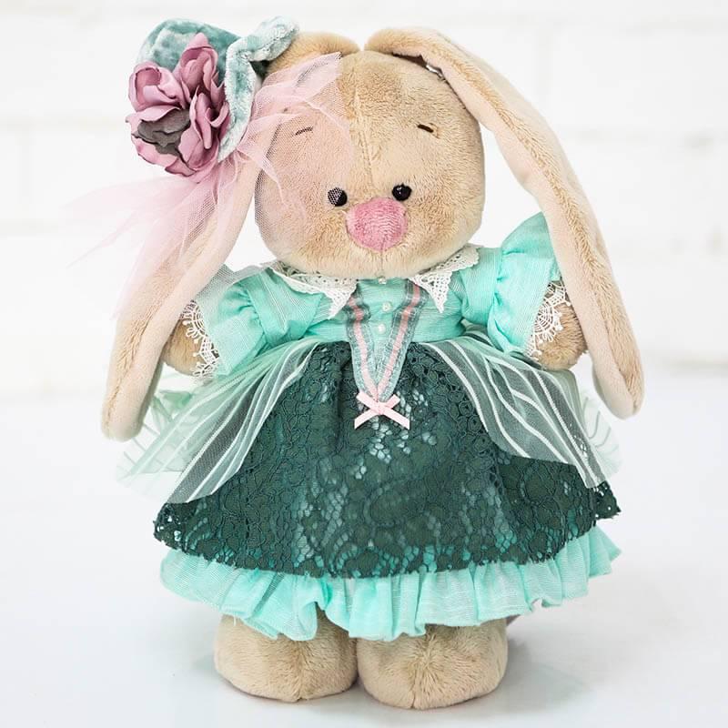 Мягкая игрушка Зайка Ми барышня в персидском зеленом