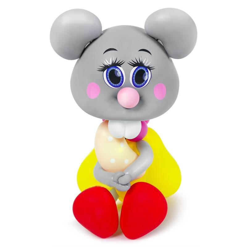 Мышка из воздушных шаров на новый год 2020