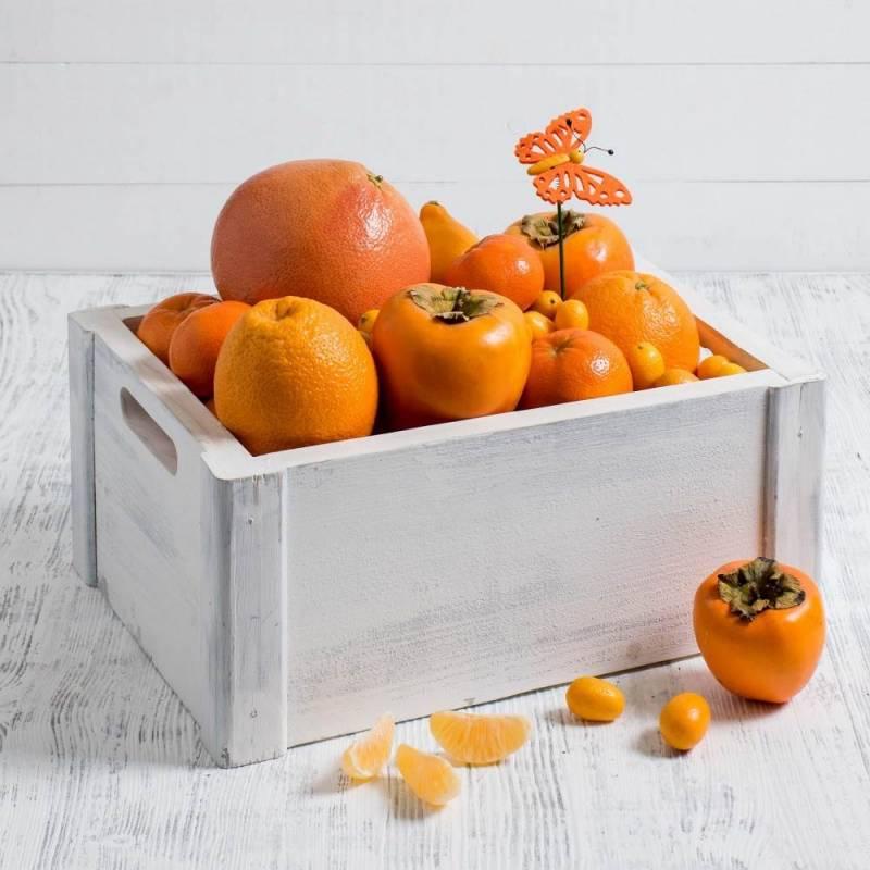 """Набор фруктовый  """" Цитрусовый поцелуй"""", средний"""
