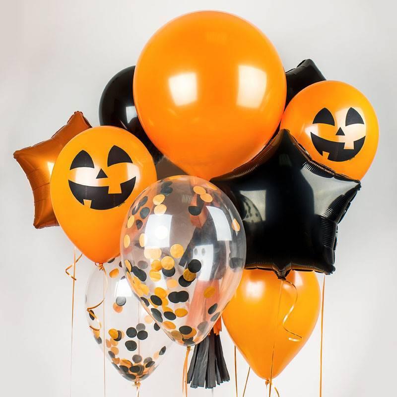"Набор гелиевых шаров "" Хеллоуин"""