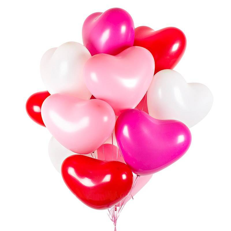 """Набор шаров в форме сердца """" Самая любимая"""""""