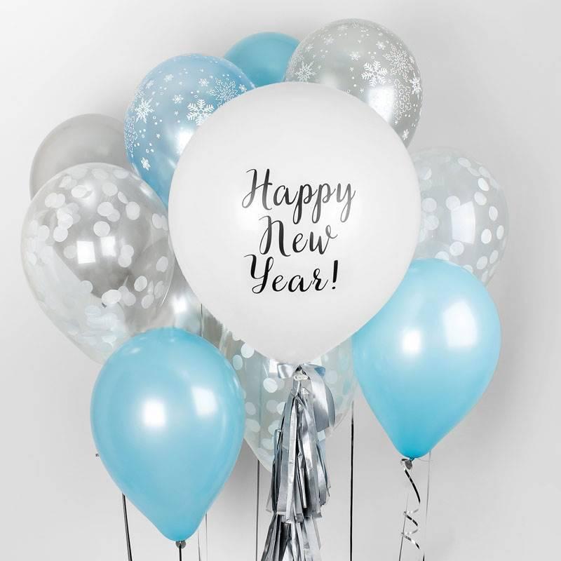 Набор шаров «Happy New Year!»