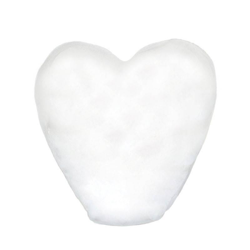 Небесный фонарик «Белое сердце»