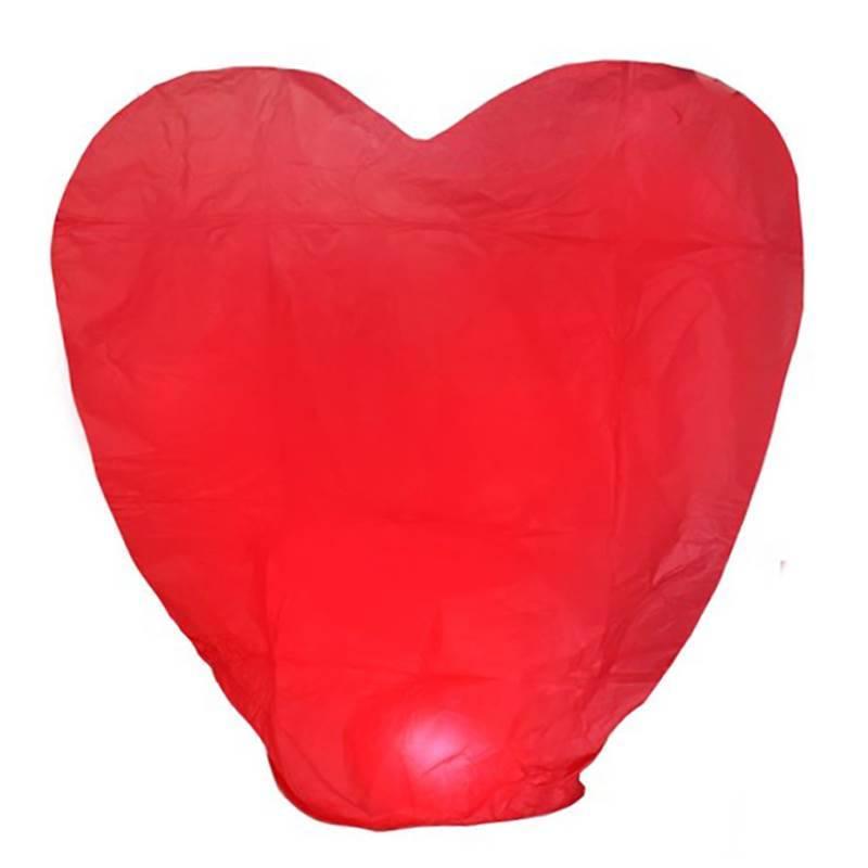 Небесный фонарик «Большое сердце»