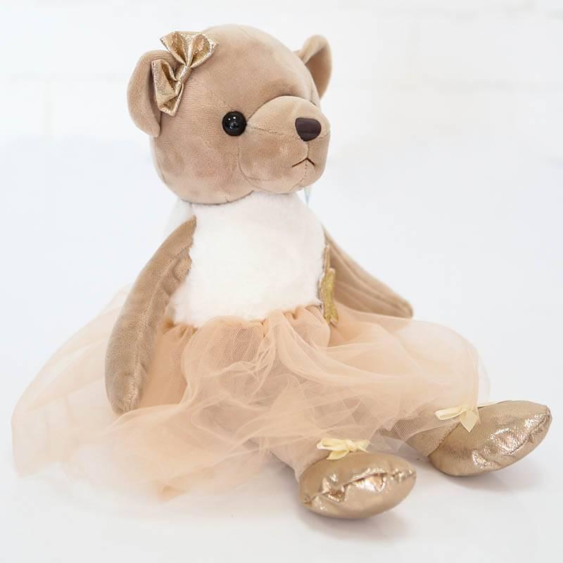 Мягкая игрушка Мишка в платье в ассортименте 35 см
