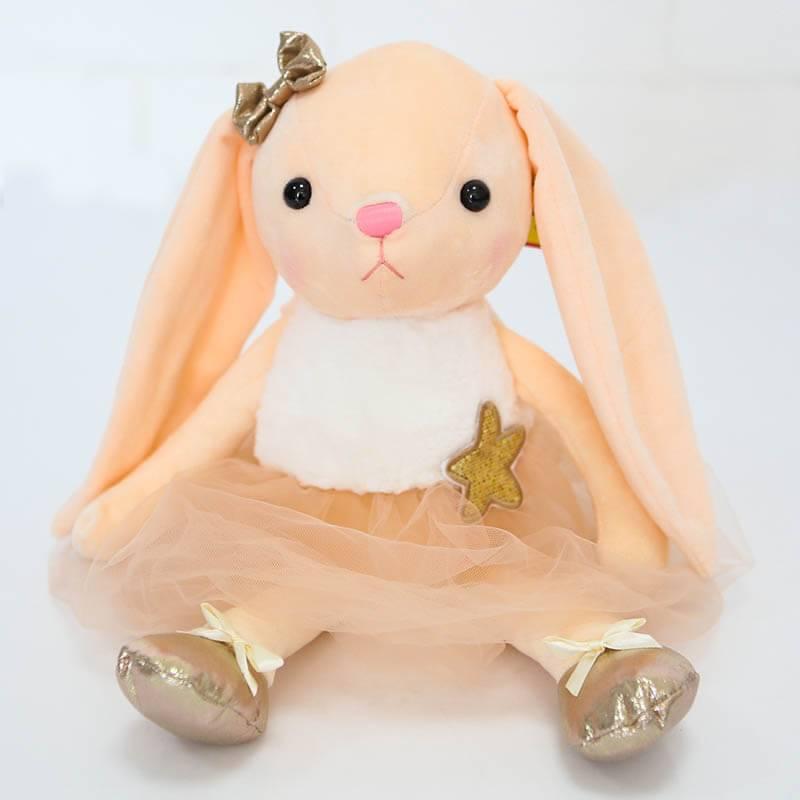 Мягкая игрушка Зайка в платье в ассортименте 35 см