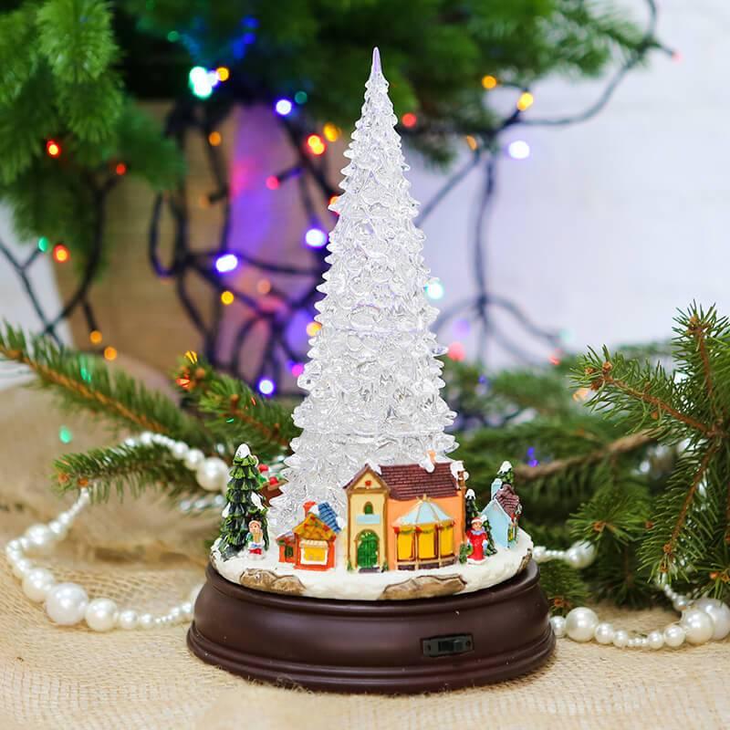 Новогоднее украшение музыкальная Ёлочка