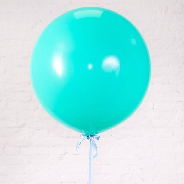 """Олимпийский шар """"Мята""""  90 см."""