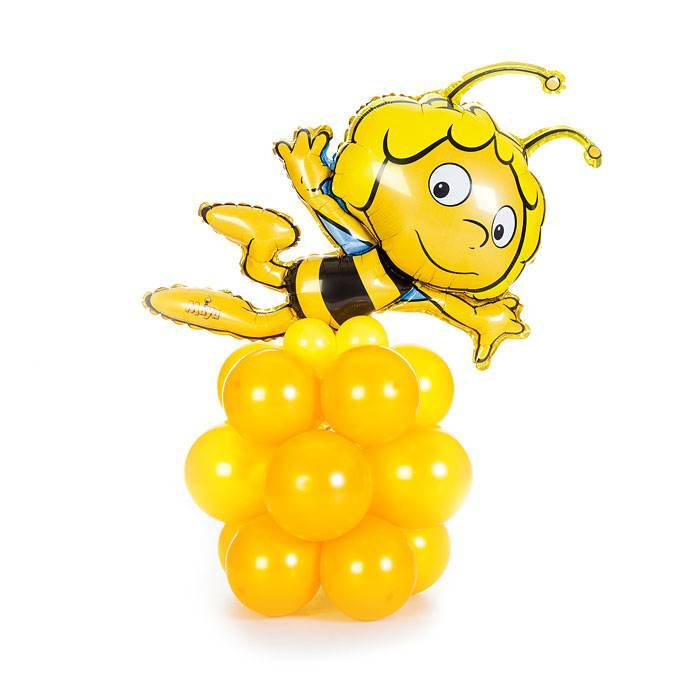 """Фигура из шаров """" Пчелка Майя"""""""