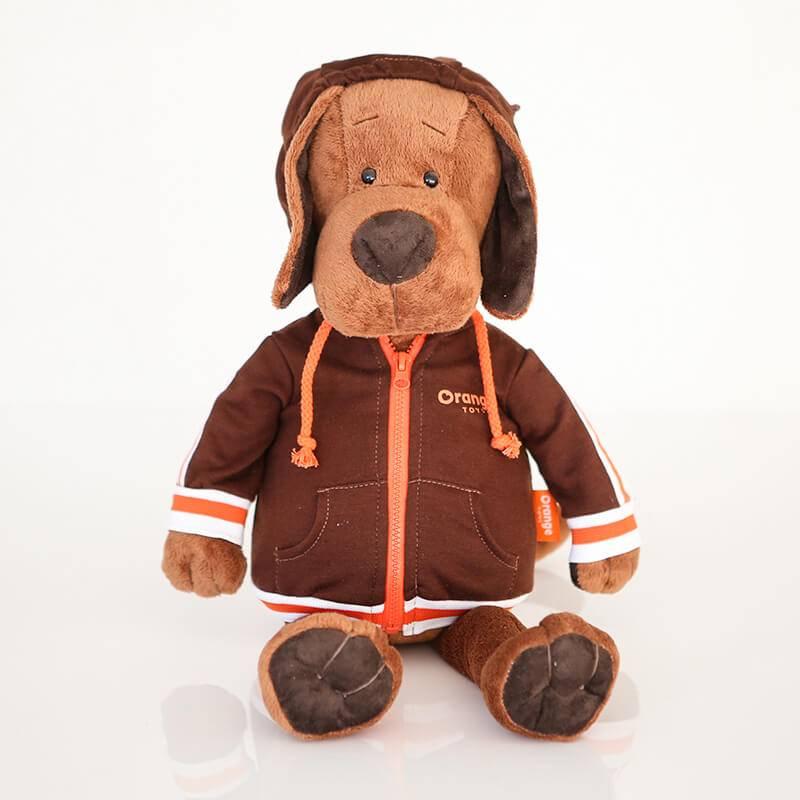 Пёс Барбоська в спортивном костюме