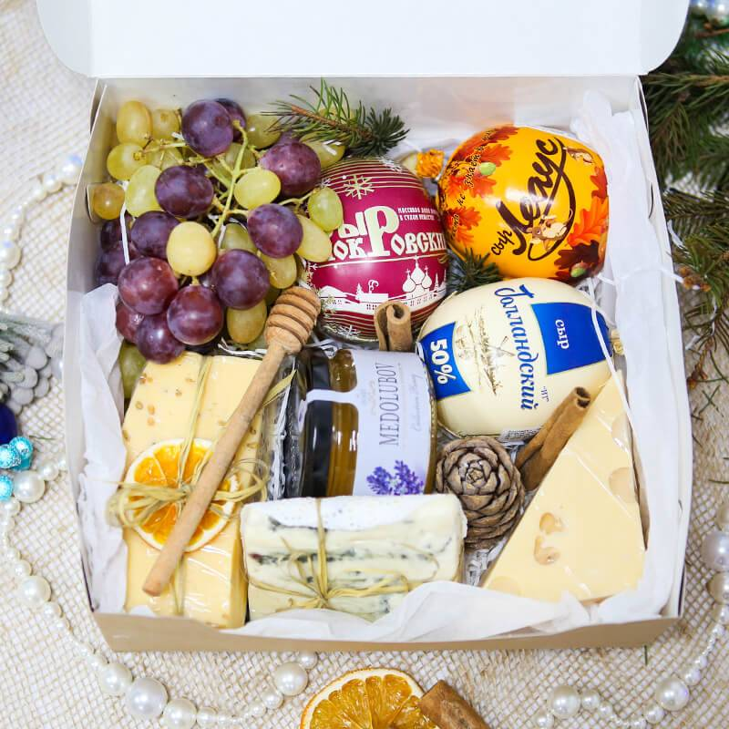 Подарочный набор с сыром Maxi
