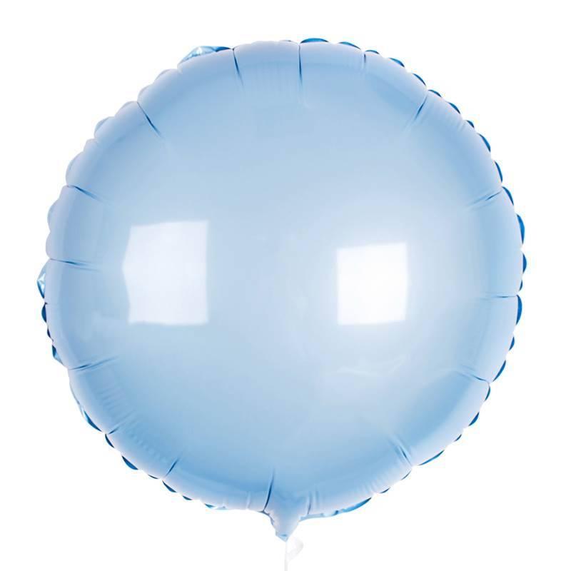 Шар из фольги «Голубой круг»