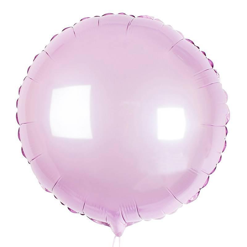 Шар из фольги «Розовый круг»