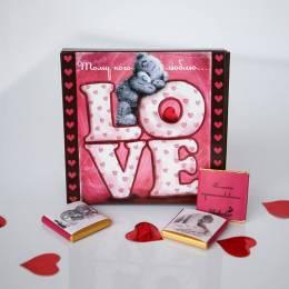 """Шоколадный набор """"Love"""""""