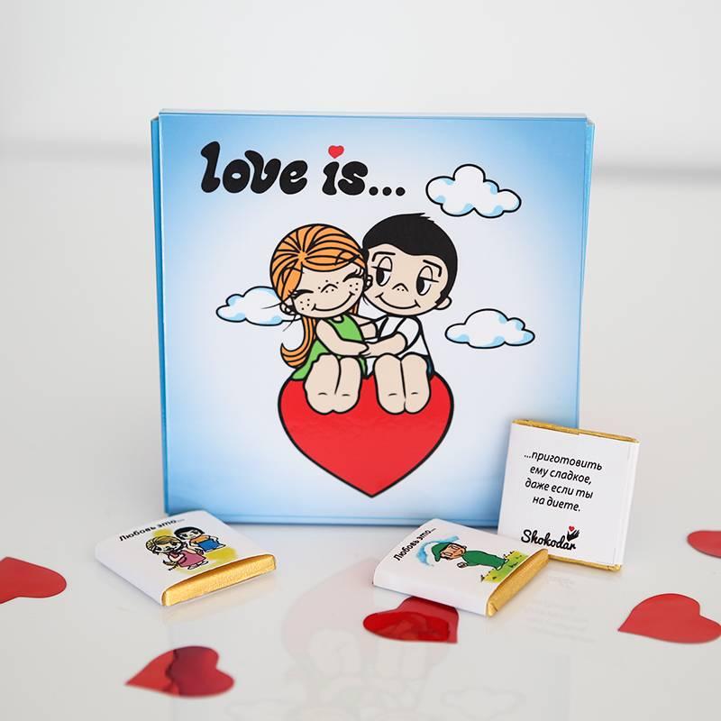 """Шоколадный набор """"Love is..."""""""