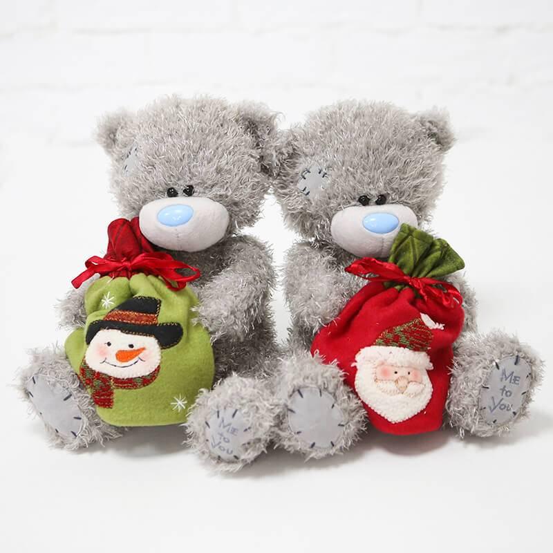 Мягкая игрушка мишка Тедди с мешочком для сладостей